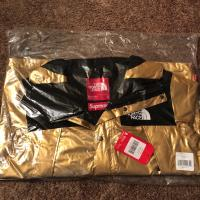Supreme x North Face Gold Parka | Image 1