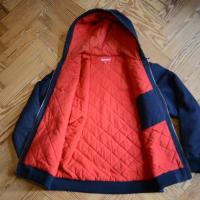 Supreme Red Built Hooded Work Jacket Fall/Winter 2008, Blue, Large | Image 2