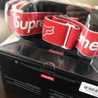 Supreme/Fox racing VUE goggles red  | Image 2