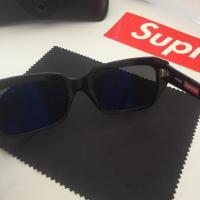 Supreme Booker Sunglasses - Black | Image 3