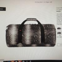 Duffle bag supreme the north face snakeskin | Image 2