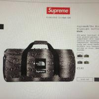 Duffle bag supreme the north face snakeskin | Image 1