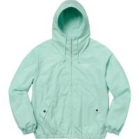Cotton Hooded Raglan Jacket Sea Foam | Image 1