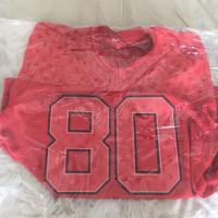 Monogram football jersey red | Image 1