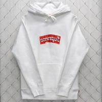 17SS Comme des Garcons SHIRT Box Logo Hooded Sweatshirt | Image 1