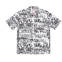 Supreme Comme Des Garcons Shirt Graphic SS Shirt white Large FW18 CDG In Hand | Image 1