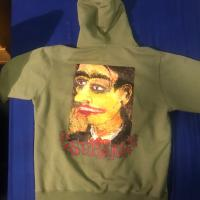 Supreme portrait hooded swearshirt | Image 1