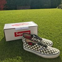 Supreme checkerboard vans | Image 3