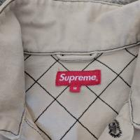 Supreme Diamond Stitch Denim Chore Jacket | Image 3