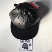 Supreme  The North Face Leather Cap Black | Image 1