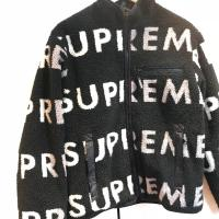 Supreme reversible logo fleece jacket | Image 2