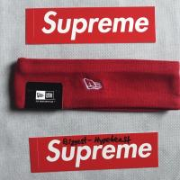Supreme Red Headband FW18 | Image 2