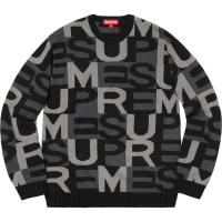 Supreme Big Letters Sweater | Image 2