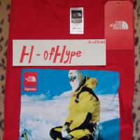 Supreme X The North Face Photo Tee Red | Image 1