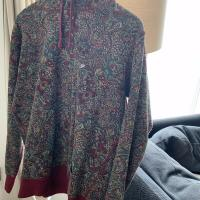 Supreme Paisley Hoodie Burgundy  Red in Large FW11  8510 | Image 2