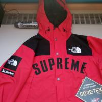 Supreme x The North Face Arc Logo Parka Red Small | Image 1