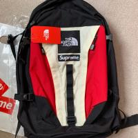 SUPREME X TNF  The North Face Backpack BlackRedWhite | Image 2