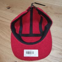 Supreme Glitter Terry Camp Cap  Red | Image 2