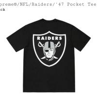 Supreme x NFL x Raiders x 3947 Pocket Tee | Image 2