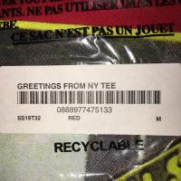 Supreme Greeting from NY tee | Image 2