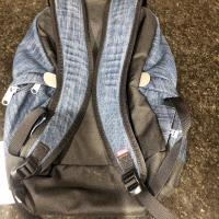 SUPREME NORTH FACE DENIM DAY PACK BACKPACK WINDSTOPPER | Image 2