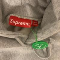 Supreme box logo hoodie heather grey | Image 1