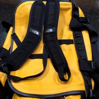 SUPREME NORTH FACE LEATHER BASE CAMP DUFFEL TAXI YELLOW BACKPACK URBAN | Image 3