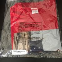 Supreme banner tee red large in hand | Image 2