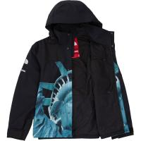 Supreme The North Face Statue of Liberty Mountain Jacket Black FW19 XL | Image 4
