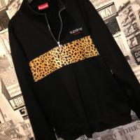 Supreme half zip leopard fleece | Image 1
