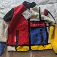 Supreme Reversible Colorblocked Jacket Red Size S | Image 1